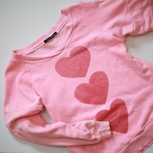 Wildfox Heart Pullover